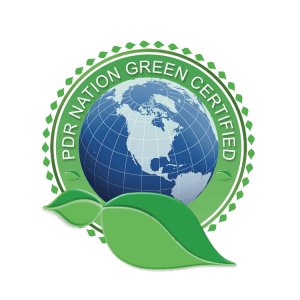 GreenCertifiedV2 CMYK NOECO 300x300 - PDR Nation Green Certified