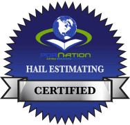 hail estimating badge e1455470700225 - Joseph Pattee